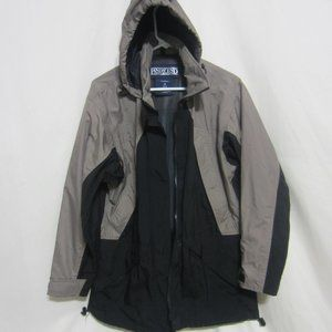EUC WOMENS LANDS END, SIZE SM (6-8) HOODED JACKET